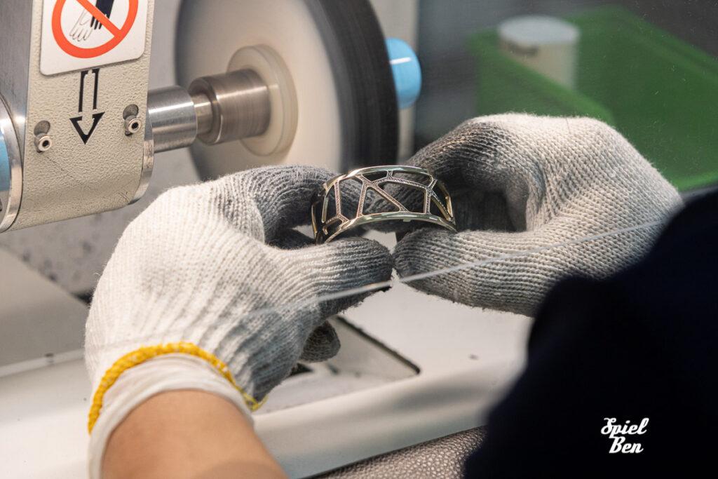 Industrial Photography - polishing